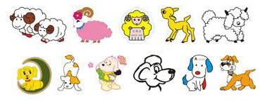Пример урока для малышей — «договорки» с животными