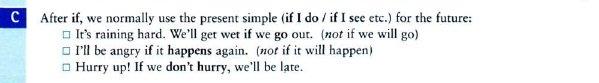грамматика conditionals