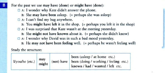 модальные глаголы may might