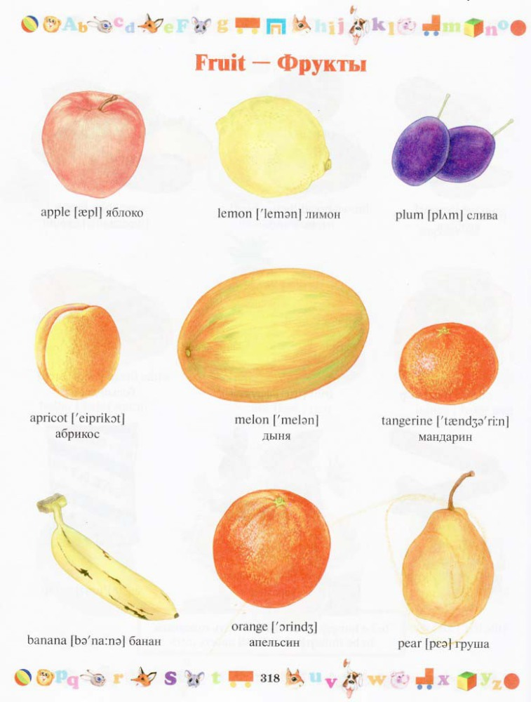 фрукты2
