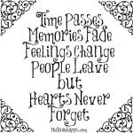 Memories – воспоминания