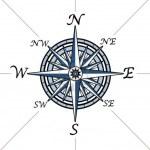 -compass- части света