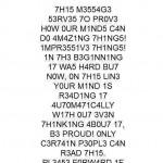 Небольшой мозговой штурм: сможете прочитать ЭТО?