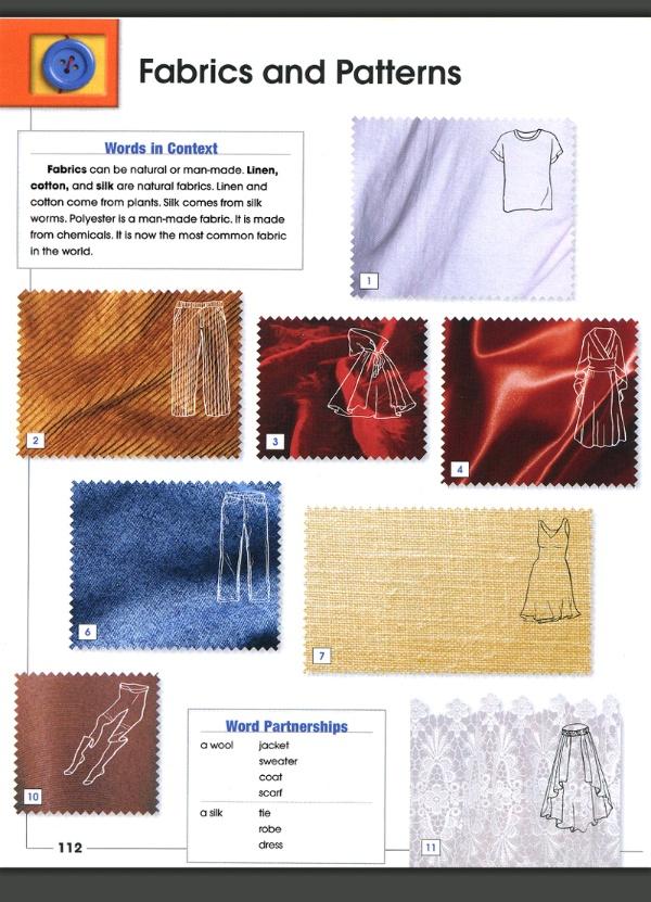 fabrics ткани