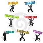 days-of-the-week-silhouettes-thumb4737930