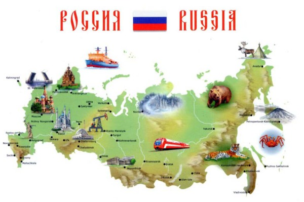 RUSSIA-map