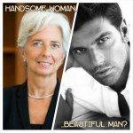 beautiful handsome
