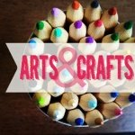 "Arts and Crafts – Словарь на тему ""Рисование, творчество"", цвета на английском"