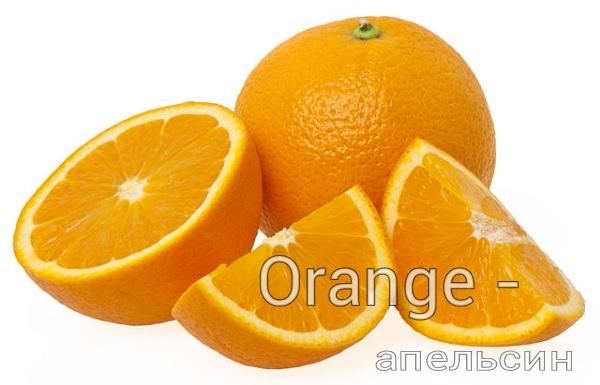 Визуальный английский: тема «Fruits» (фрукты), слайдшоу