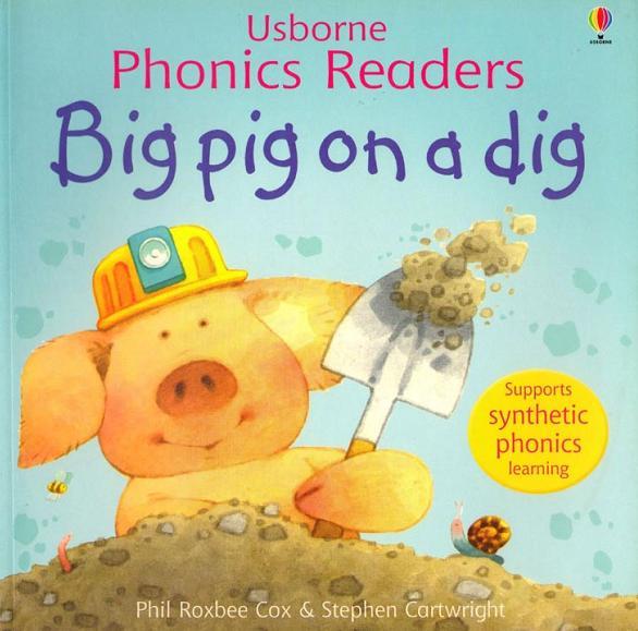Big Pig on a Dig — Большая свинка на раскопках. Видео сказка детям