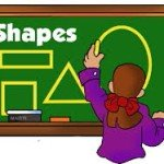 Shapes – геометрические формы на английском