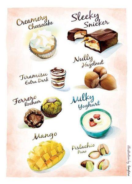 сладкое - something sweet