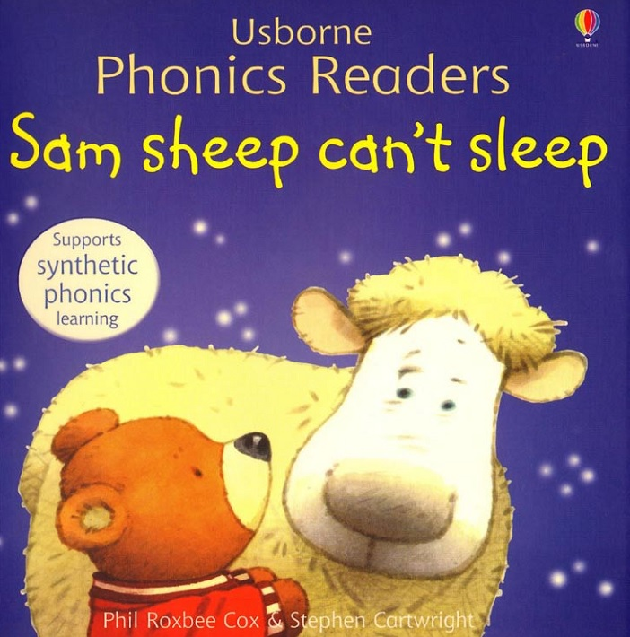 Сказки детям на английском: Sam Sheep Can't Sleep