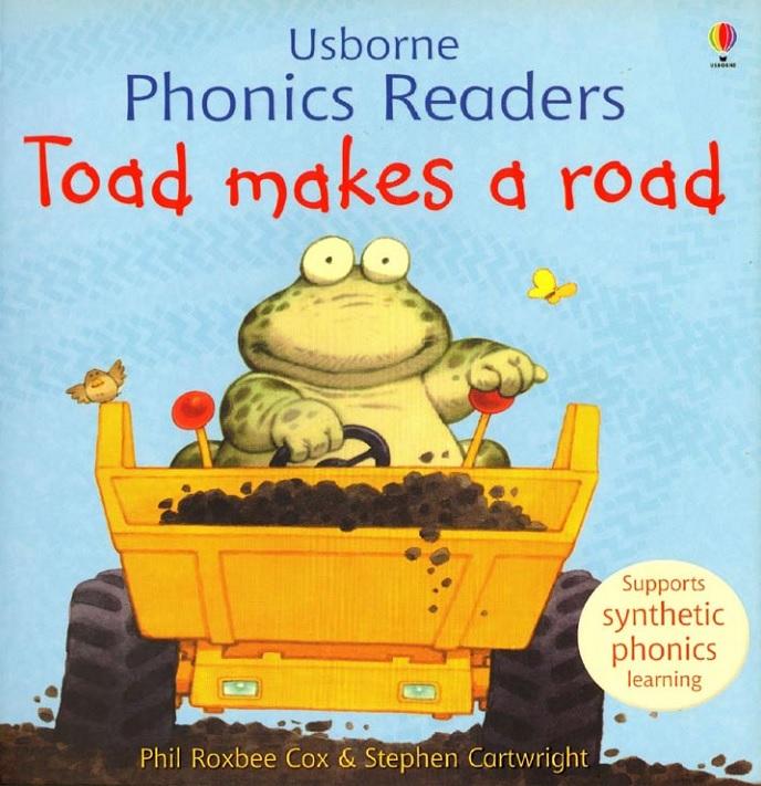 Видео-сказка: Toad Makes a Road – Жаба строит дорогу