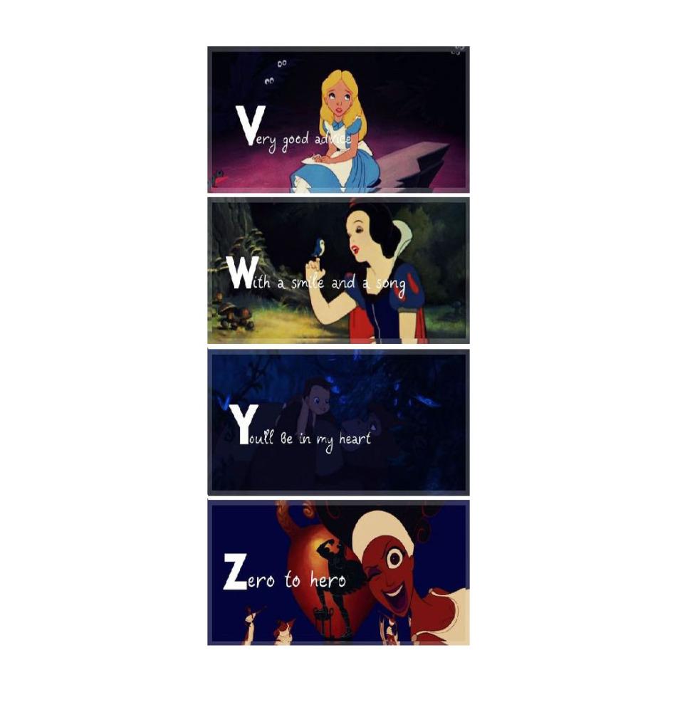 disney alphabet 3