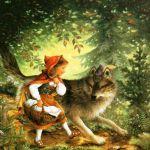 Красная Шапочка на английском – Little Red Riding Hood