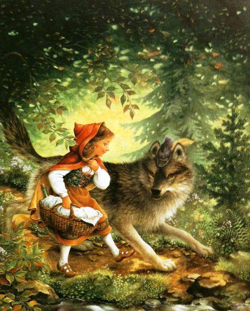 Красная Шапочка на английском — Little Red Riding Hood