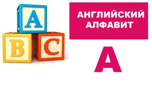 Английский алфавит для детей (A-K)