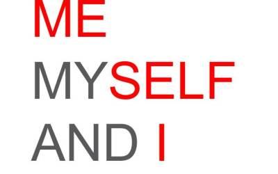 Разница между I – ME — MYSELF