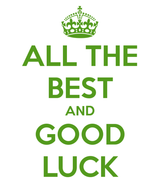 all-the-best-and-good-luck
