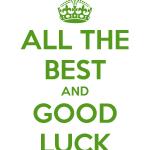 Как пожелать удачи на английском – How to Wish Luck