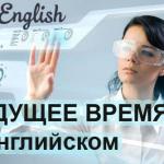 Будущее время в английском – видео уроки
